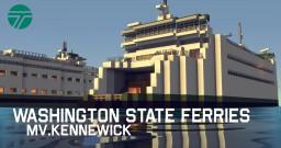 【Operation Infinite Ocean】 - Washington State Ferries MV.Kennewick Minecraft Map & Project