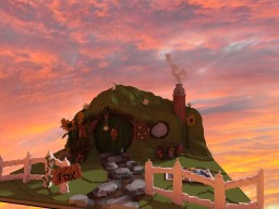 Hobbit hole - Lotr Minecraft Project