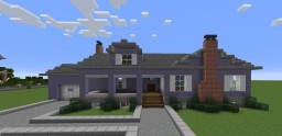 Simple Suburban Home Minecraft Map & Project