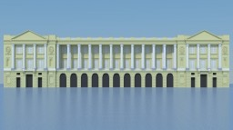Hôtel de la Marine Minecraft Project