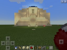 Ziggurat Temple Minecraft Map & Project