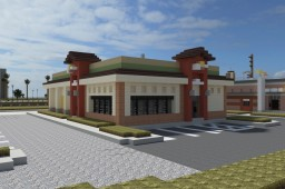 Del Taco Restaurant | OR Minecraft Map & Project