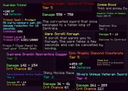 Zentrela - The Ultimate MMORPG (All Custom Code!) Minecraft Server