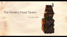 The Raven's Feast Tavern - PMC Chunk Challenge: Solo Build Contest Minecraft