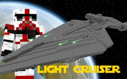 Imperial Light Cruiser Minecraft Map & Project