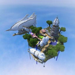 Sky Island By TheFumbler Minecraft Map & Project