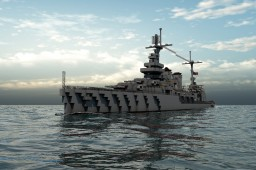 USN CA New Orleans Class Minecraft Project
