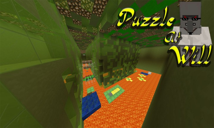 4 player minecraft puzzle map