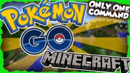 Pokemon Go with only ONE command! Minecraft Map & Project