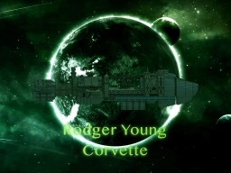 The Rodger Young Corvette Minecraft