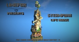 Steampunk Life house -  Chunk Challenge : Solo Build Contest #4 Minecraft Map & Project