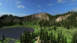 Hana Lake Front - Ultra Realistic Terrain - Five Device Challenge Minecraft Project