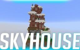 The Skyhouse | T0Myvlogs Minecraft Project