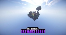 SKYWARS LOBBY [FREE MAP DOWNLOAD] ◀68▶ Minecraft Map & Project