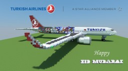 Airbus A321 Sharklets - Turkish Airlines | IAS Minecraft Project