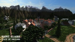 Saint Claire [A town in Republic of Union Islands] Minecraft Map & Project