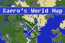 Xaero's World Map [1.12/1.11/1.10/1.9/1.8/1.7][Forge] Minecraft