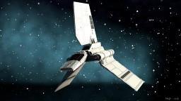 Lambda-class T-4a shuttle - Star wars Minecraft Project