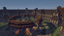 Hub Spawn || 120X120 || 4 Portals Minecraft Map & Project
