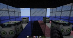 PopularMMOs Cloud Lucky Block Race Minecraft Map & Project