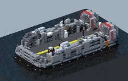 LCAC-clas Hover landing craft Minecraft Project