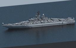 AU Ōsumi Class Heavy Strike Cruiser [BBGN] Minecraft Map & Project