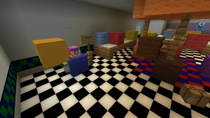 Fredbear s family diner minecraft project