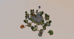 """FLYING SKYBLOCK SPAWN"" (Etheldrion, FreeRoamingMonky, Kylirion) Minecraft Map & Project"