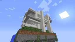 Chunk Sized Decorative Modern Haus Minecraft Map & Project