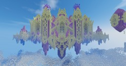 The Crystal palace inspirated by [World of warcraft-Legion] The halls of Valor Minecraft