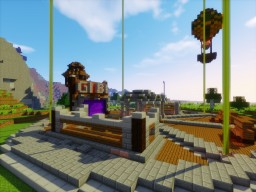 Server spawn created for GIBI Minecraft Map & Project