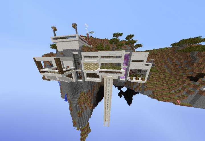 Bl4z3r h0uz3 casa moderna 1 8 minecraft project for Casa moderna 8