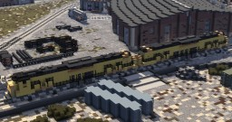 Union Pacific Alco C-855A And C-855B Minecraft