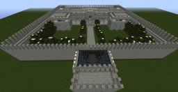 Modern Castle Minecraft Map & Project