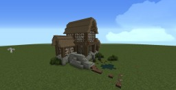 Small Medieval House. Minecraft Project