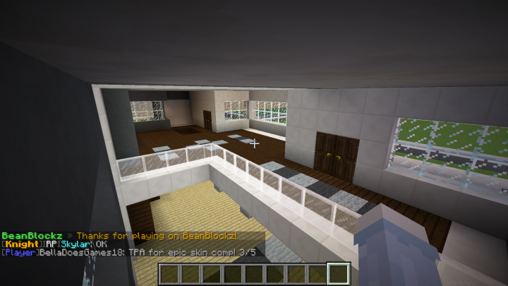 My Modern House Interior And Exterior Minecraft Project
