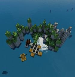 Miniature FROZEN! Minecraft Map & Project