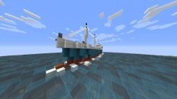 Cargo Ship full interior Minecraft Map & Project