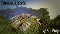 Painted Streets - Paintball map Minecraft
