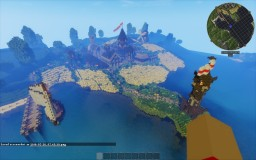 Herondale Town Minecraft Map & Project