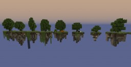 Custom Trees and Floating Islands Minecraft