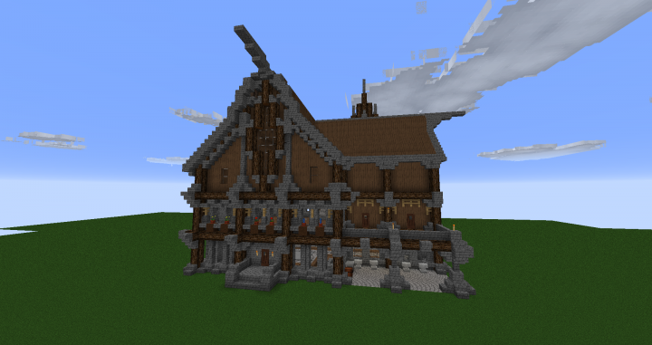 Upper Class Medieval House Minecraft Project