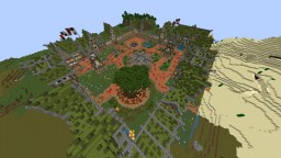 Survival Spawn #Modern #Free Minecraft Map & Project