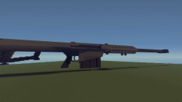 Barrett M82A1 Realistic Replica Minecraft Project