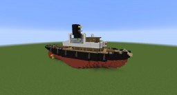 Tug Boat Minecraft Map & Project