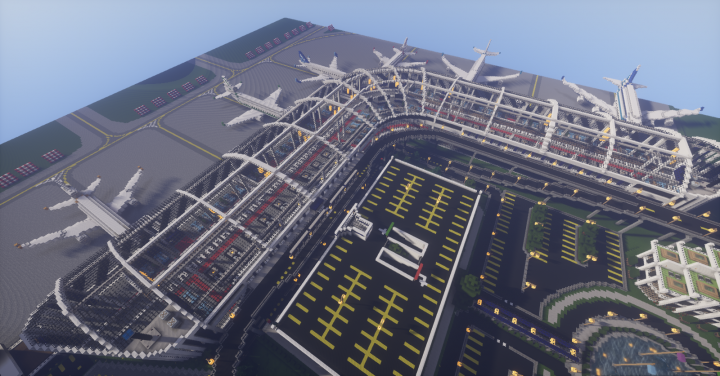 My first airport terminal.