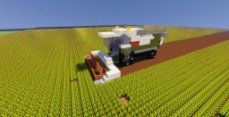 Combine Harvester Minecraft Map & Project