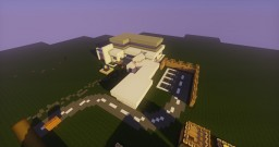 Awesome Restraunt w/ Parking Lot & Drive Thru Minecraft Map & Project