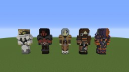 3D Skins (For Requests) Minecraft Project