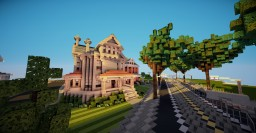 1890's Victorian house Minecraft Map & Project
